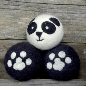 Load image into Gallery viewer, Panda dryer balls