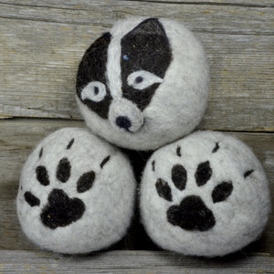 Load image into Gallery viewer, Wolf dryer balls