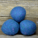 Blurple wool dryer ball