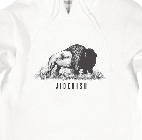 Jiberish Buffalo Hoodie - Saturday September 19th
