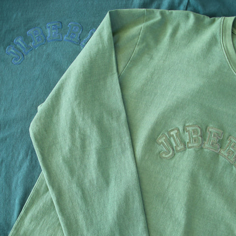 Overdyed Arch Logo Long Sleeve Tees