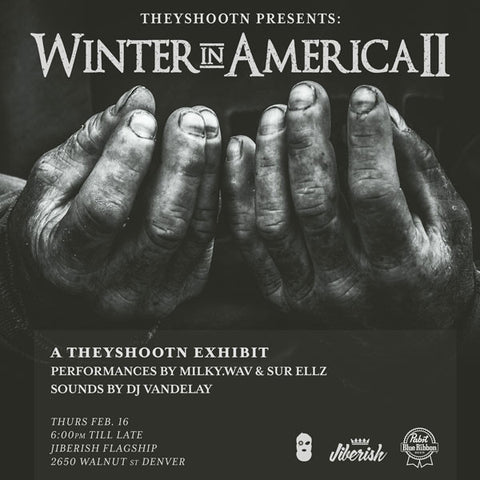 Theyshootn Presents Winter in America II - February 16th