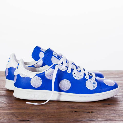 "Pharrell x adidas Originals ""Big Polka Dot Pack"" Stan Smith - Blue"