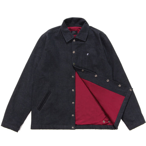 Denim Coaches Jacket Black