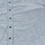 Batik Polka Button Down