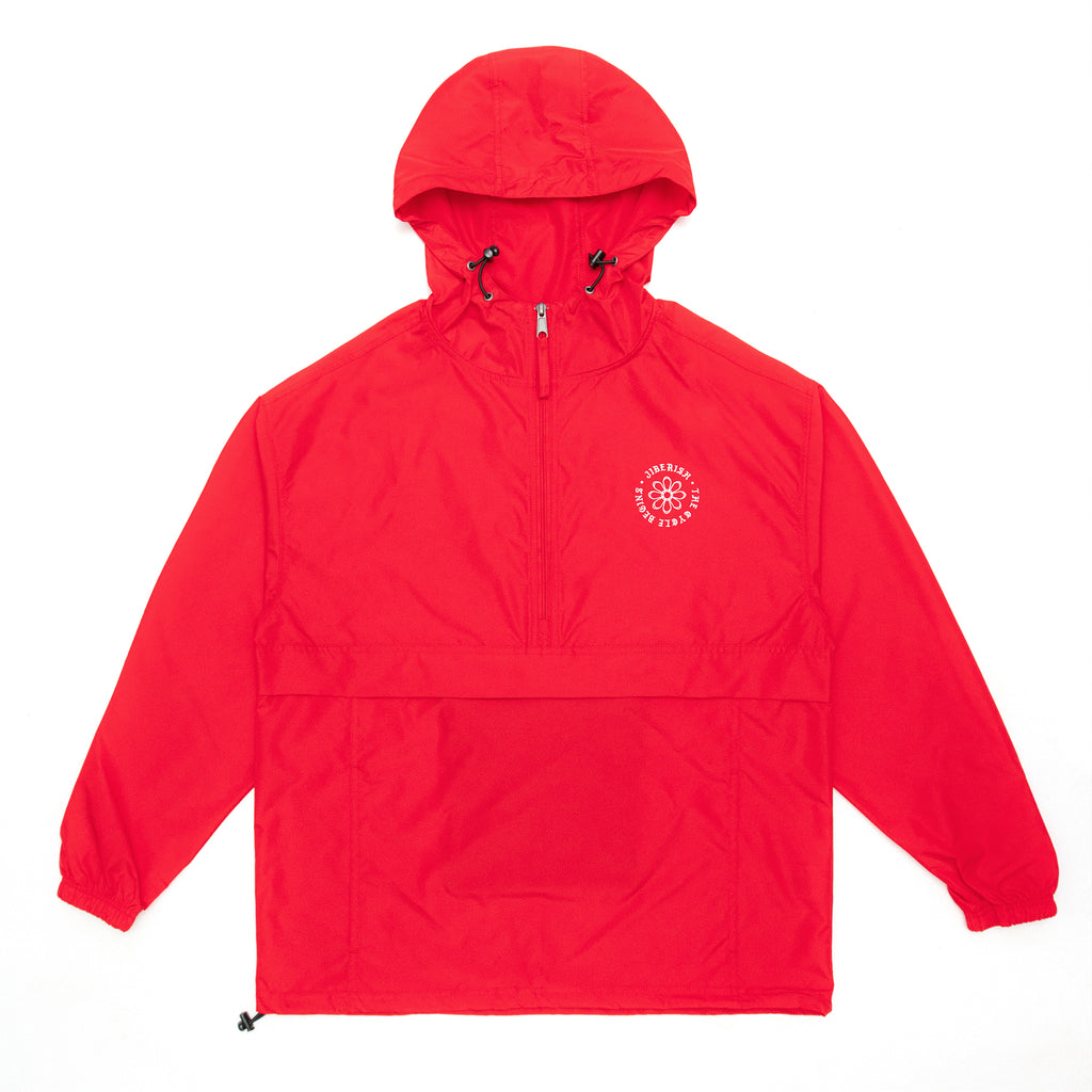 Earth Reclaimed Champion Anorak Varsity Red