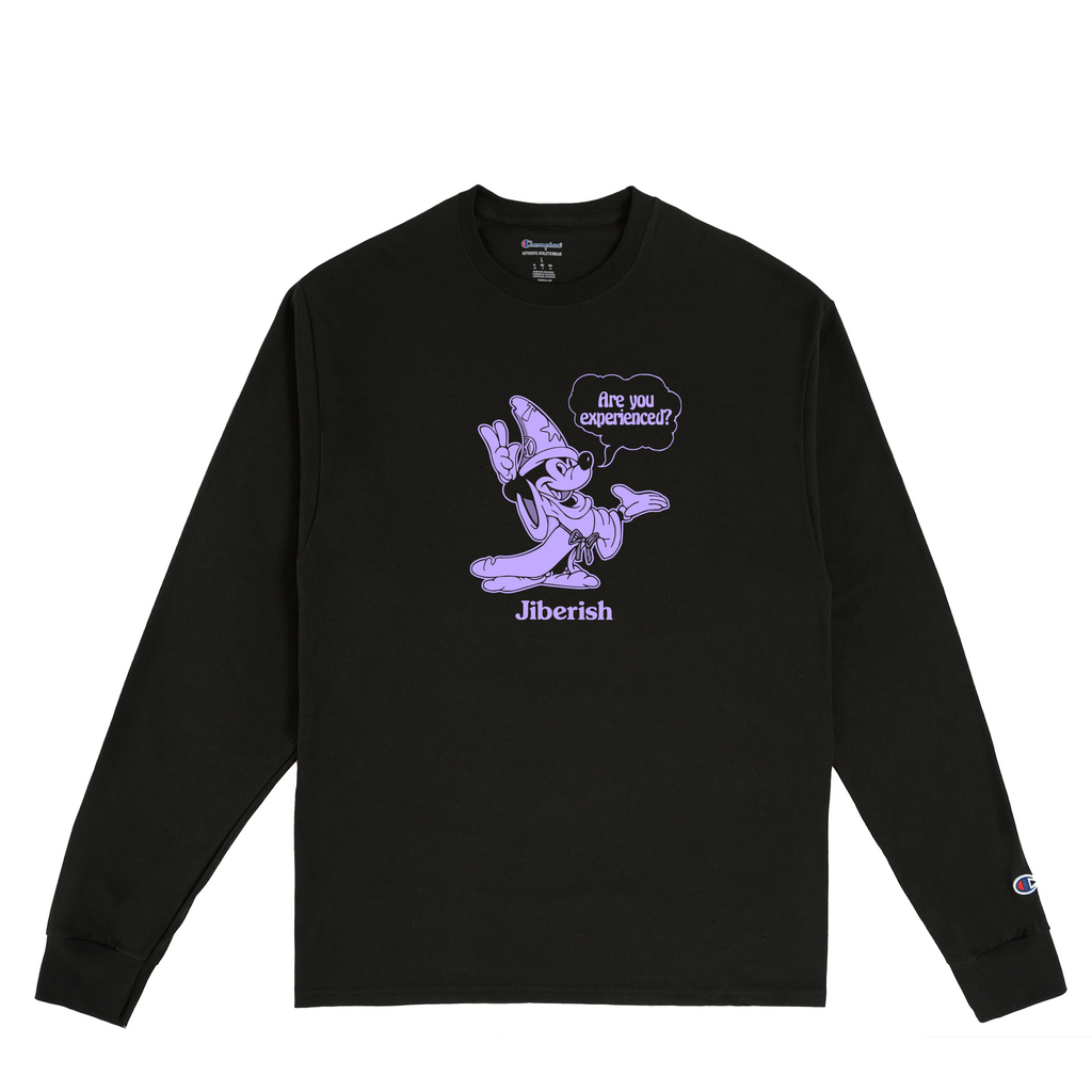 Are You Experienced Black Long Sleeve