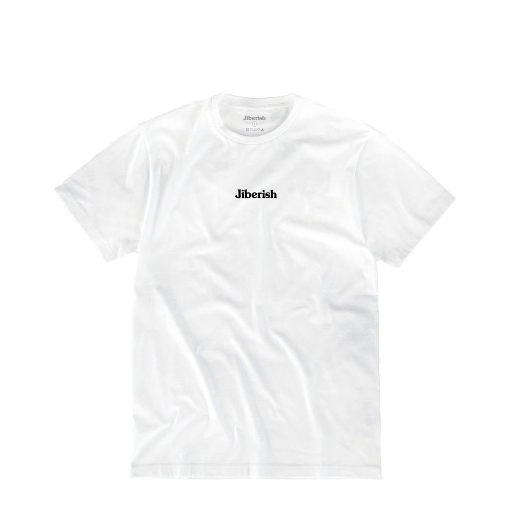 Hometown Supima Script White