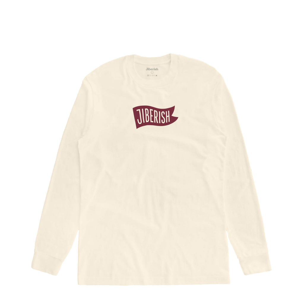 Pennant Long Sleeve Bone