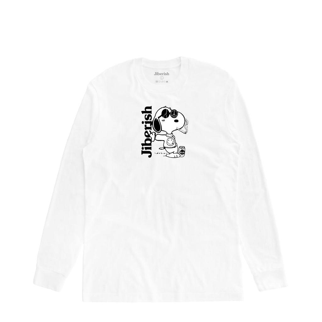 Dogg Pound Long Sleeve White