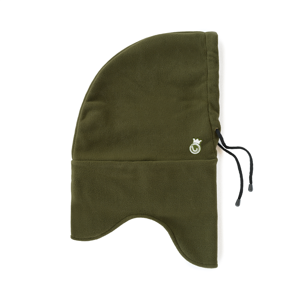 J-Crown Fleece Hood Olive