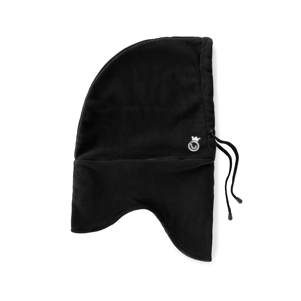 J-Crown Fleece Hood Black