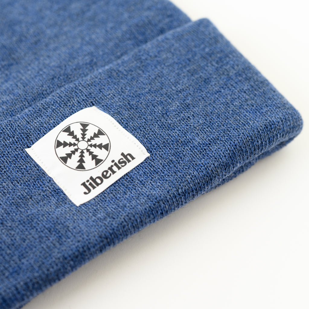 Flake Cuff Beanie Heather Royal