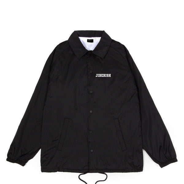 Arena Coaches Jacket Black