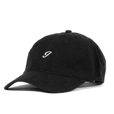 J Script Unstructured 6 Panel Black