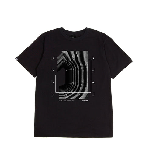 ODESZA x Jiberish Capsule Collection - Foreign Family Tee Black
