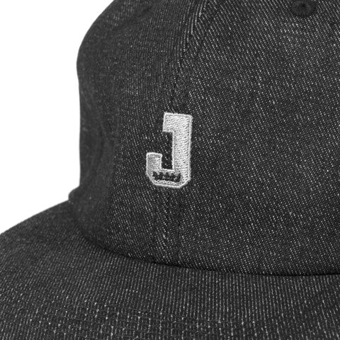 Mini J Unstructured 6 Panel Black
