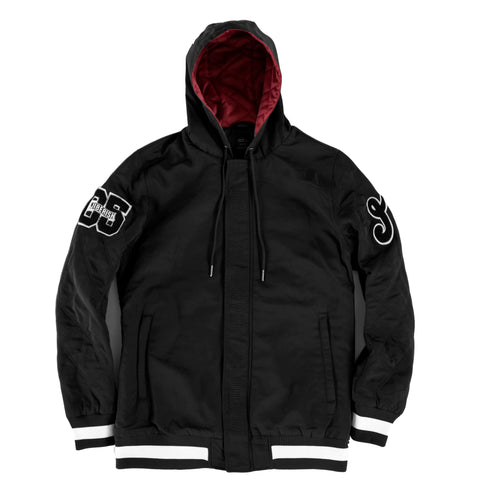Quandary Hooded Jacket Black