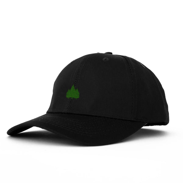 Hit The Trees Unstructured 6 Panel Black