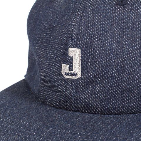 Mini J Unstructured 6 Panel Navy