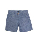 Cotton Chambray Short Blue