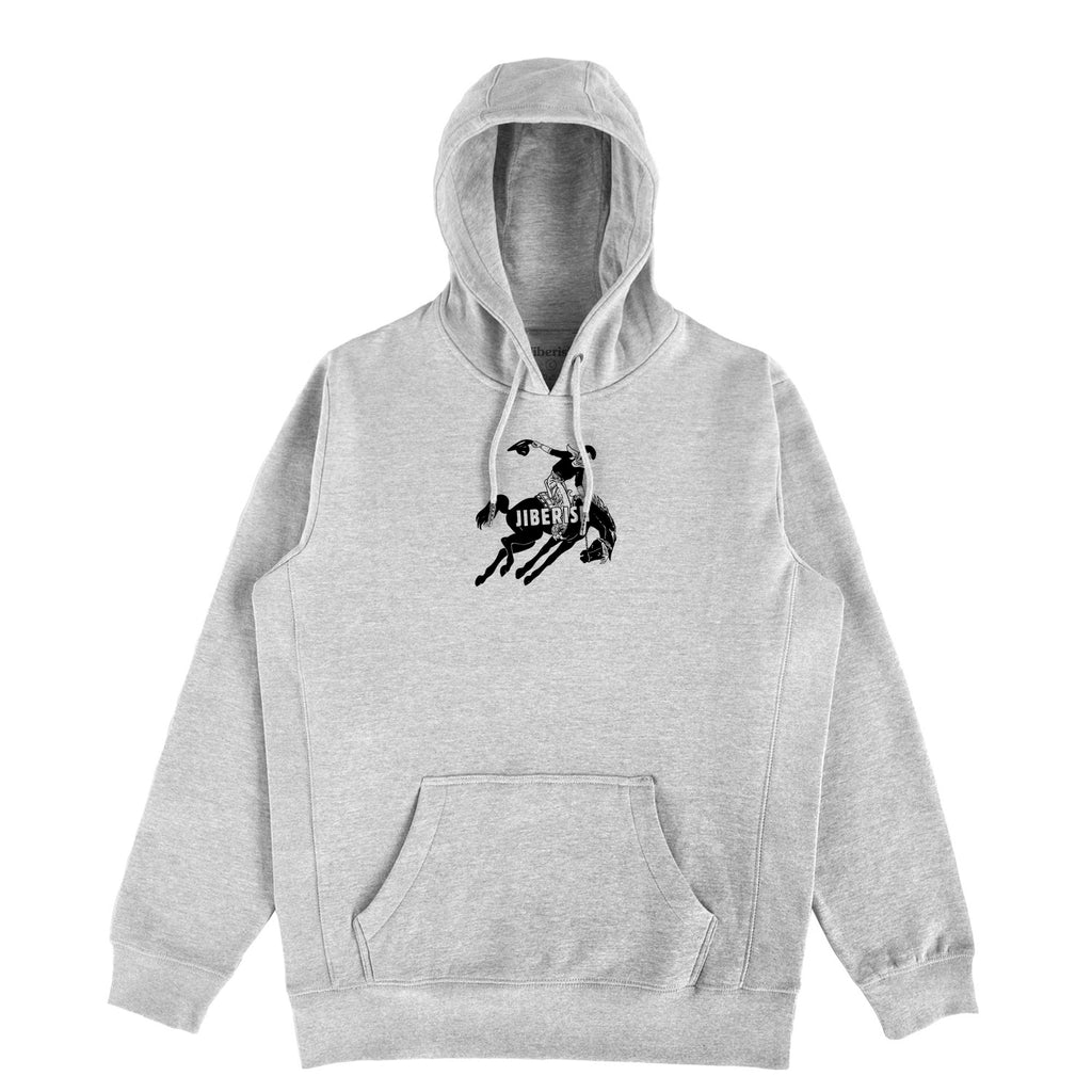 Bronco Hoodie Heather Grey