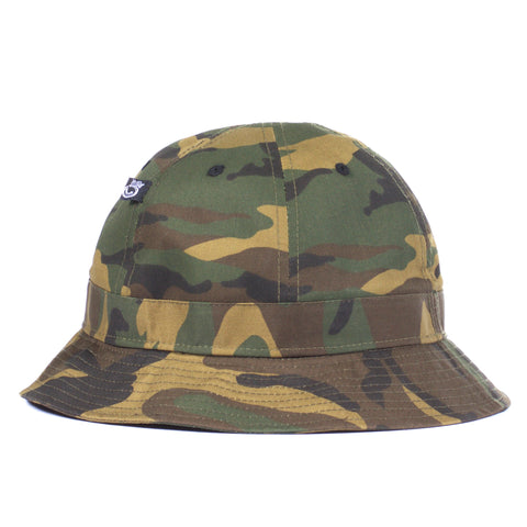 J Crown Bucket Hat Camo