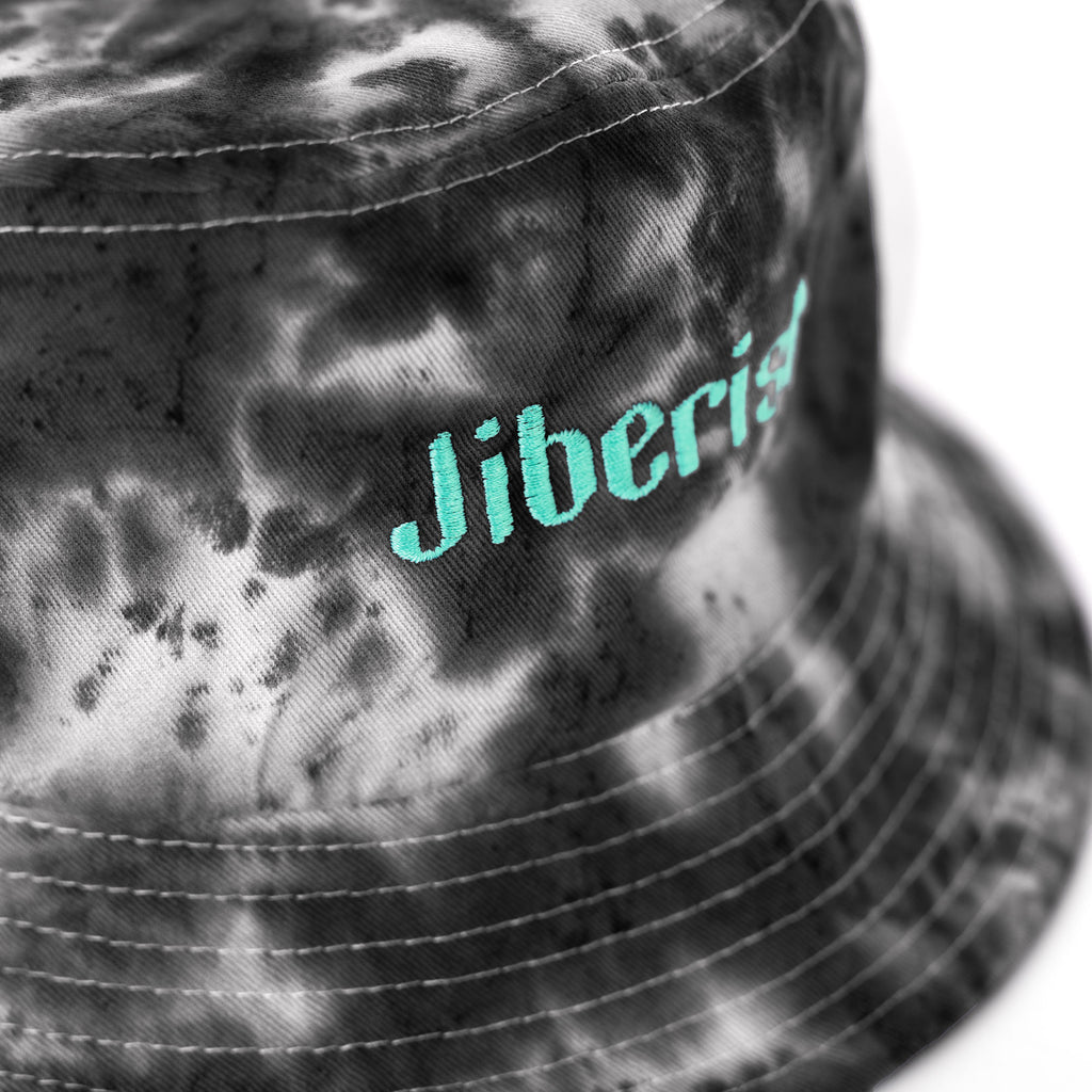 Hand Dyed Bucket Hat Black