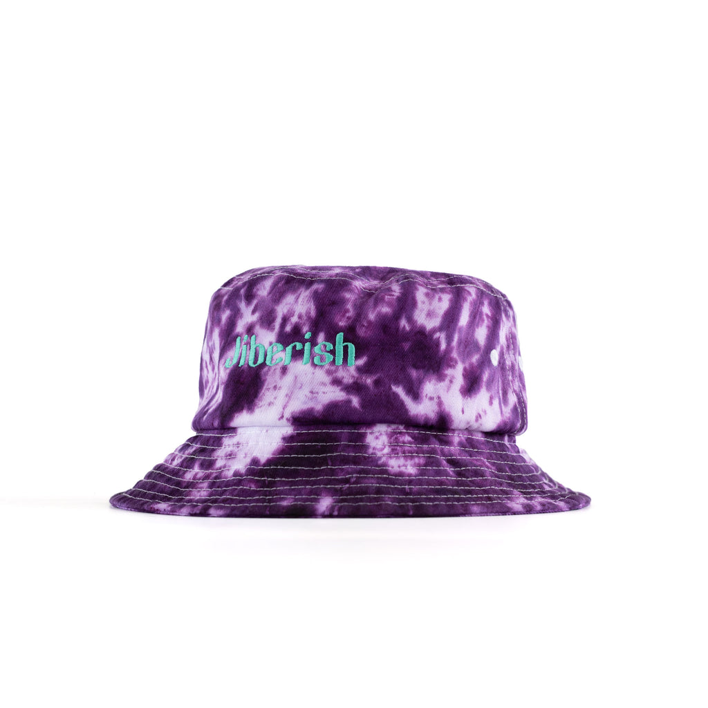 Hand Dyed Bucket Hat Purple