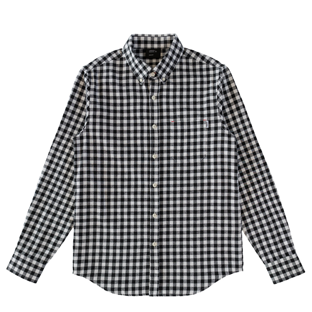 Checkered Flannel Black/White