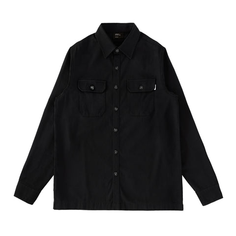 Cherries Club Overshirt Black