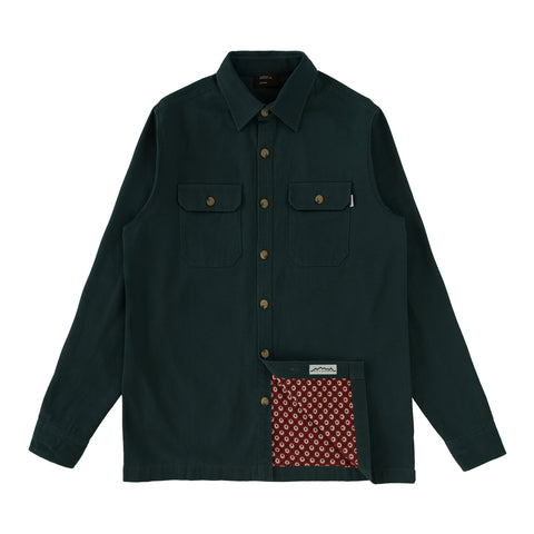 Cherries Club Overshirt Forest