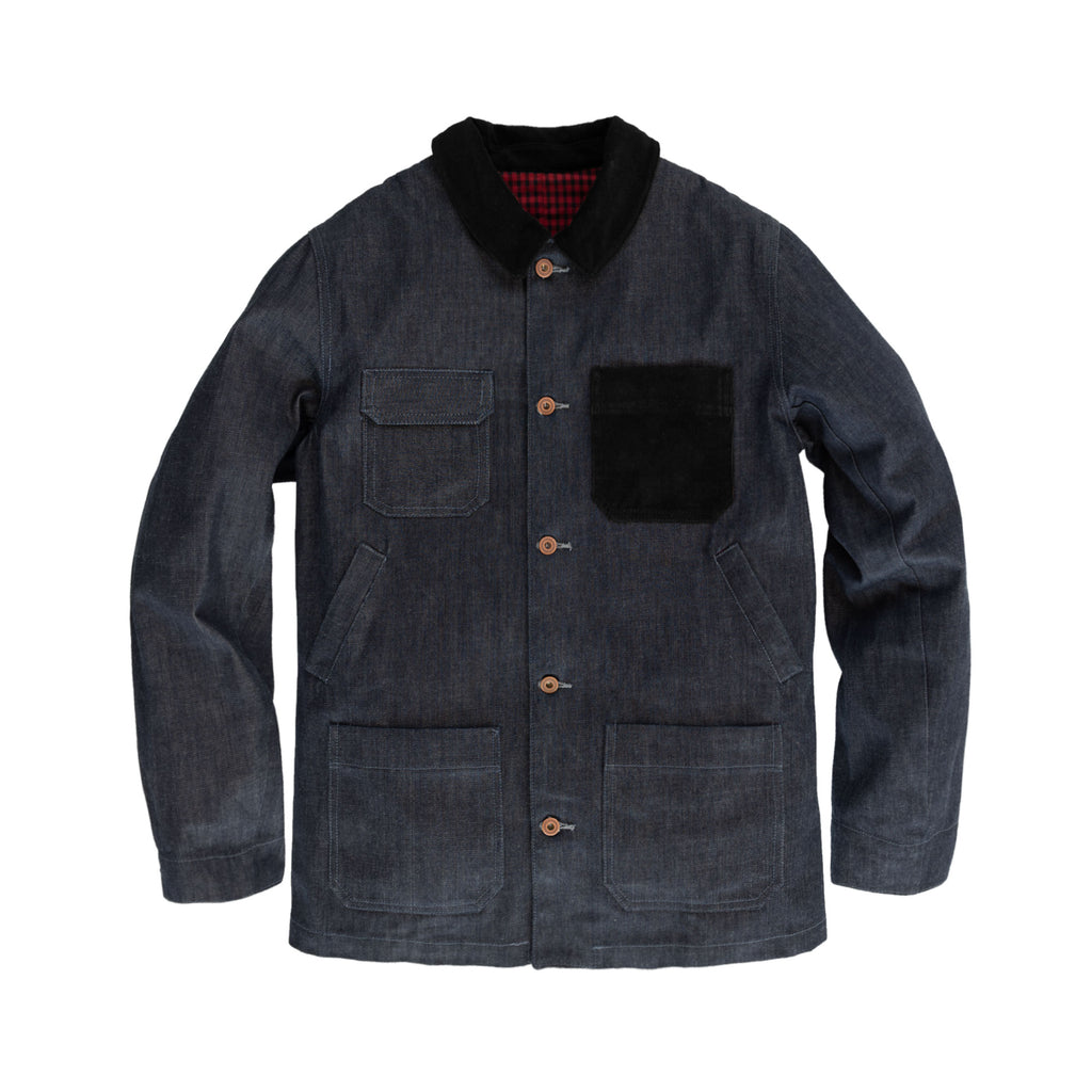 Made in USA Cone Denim Chore Coat Indigo