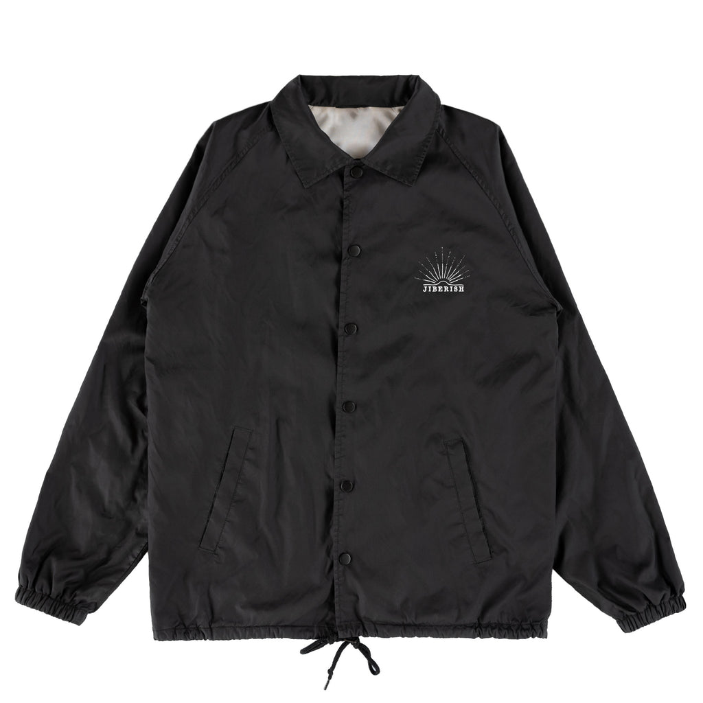 Play For Keeps Coaches Jacket Black