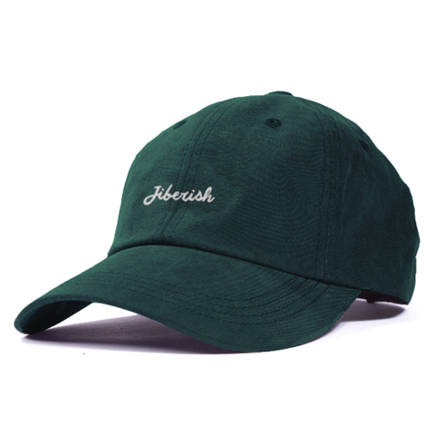 Script Unstructured 6 Panel Hat Hunter Green