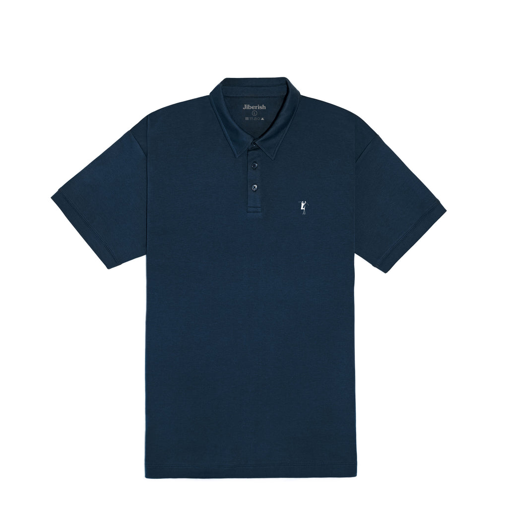 Hot Dogger Supima Polo Navy