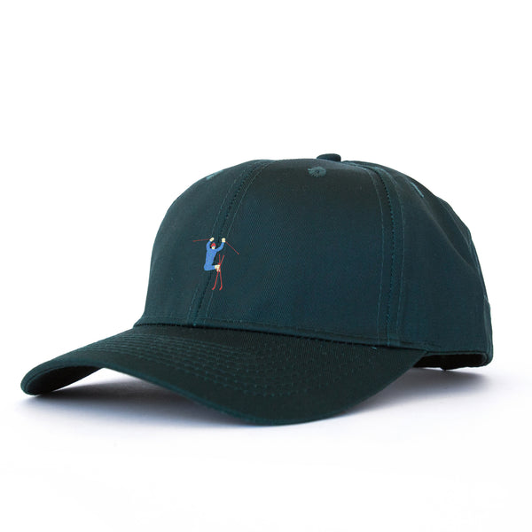 Hot Dogger Unstructured 6 Panel Hunter Green