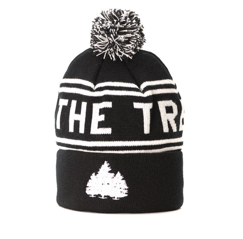 Hit the Trees Beanie Black