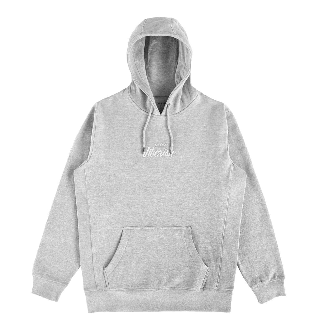 Script Hoodie Heather Grey