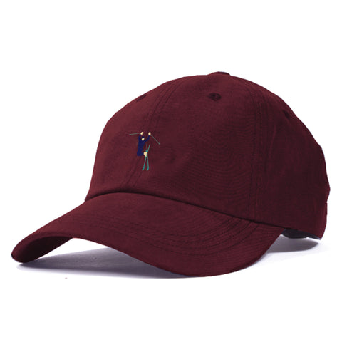 Hot Dogger Unstructured 6 Panel Maroon