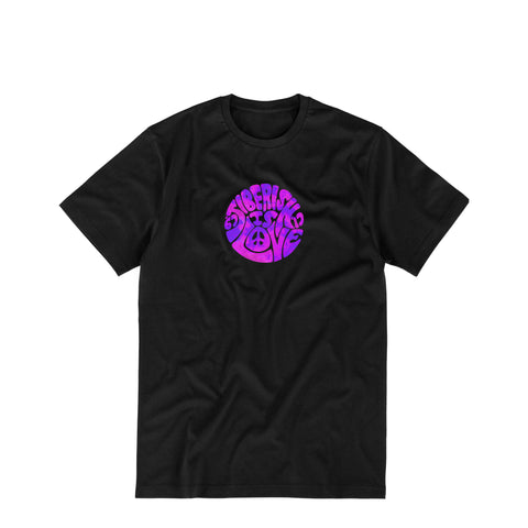 Jiberish is Love Tee Black