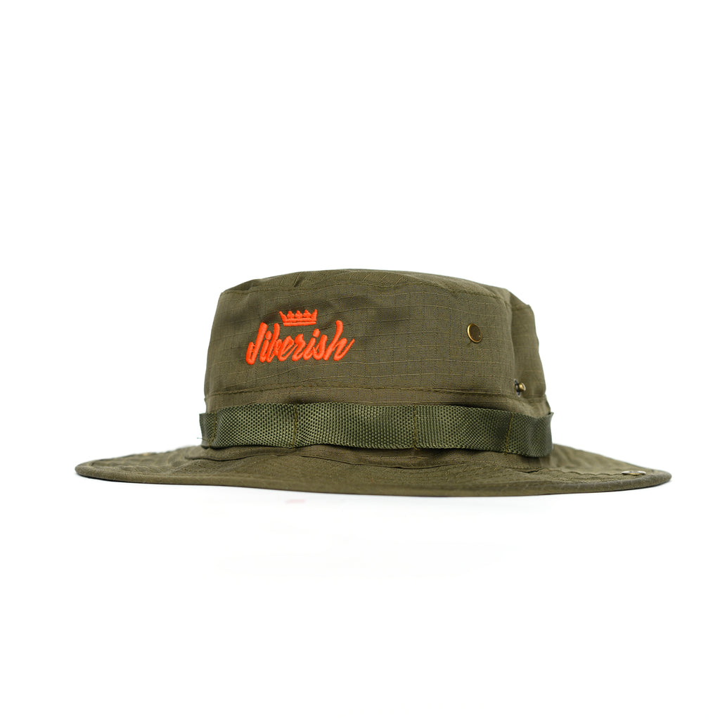 Script Boonie Hat Olive