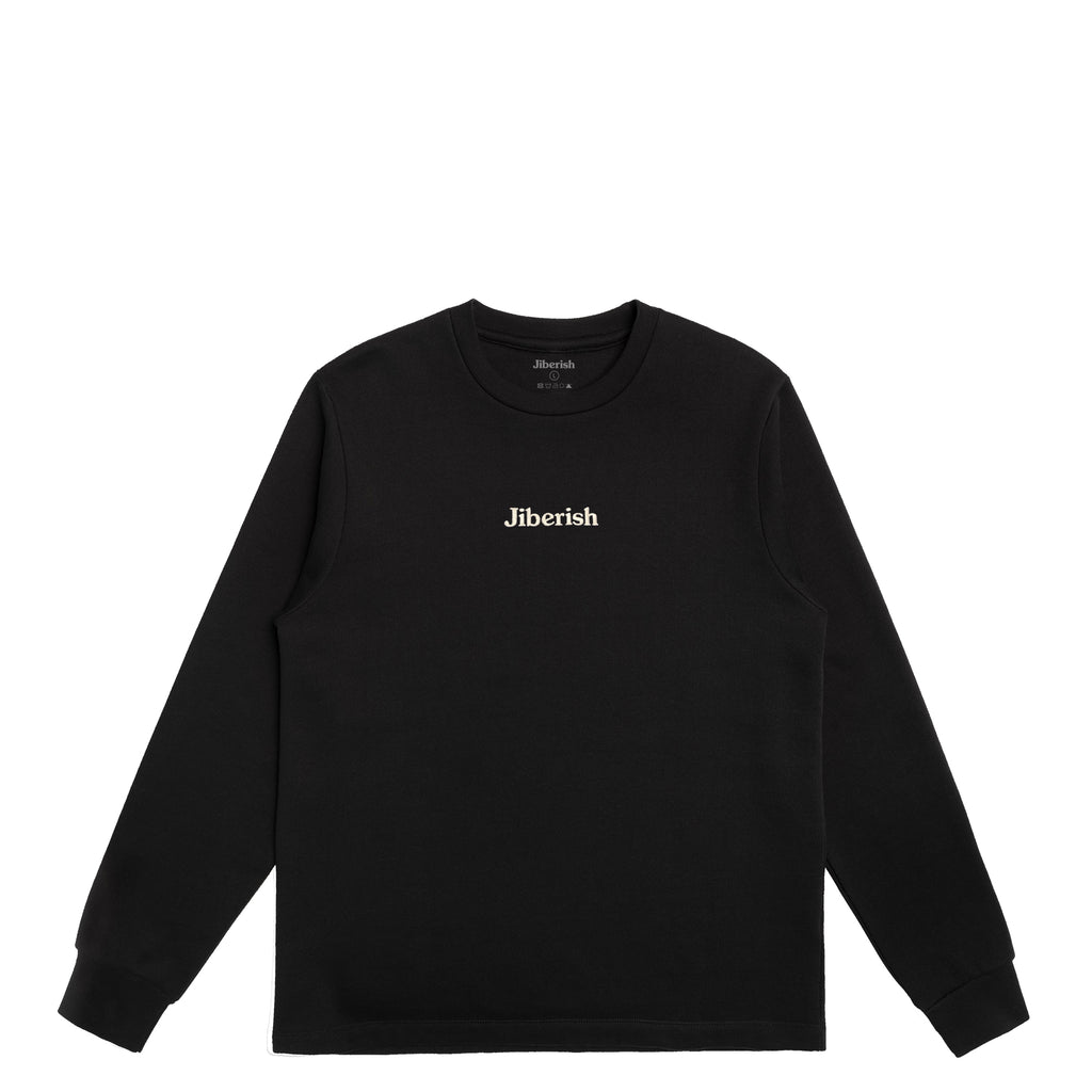 Hometown Supima Crewneck Black