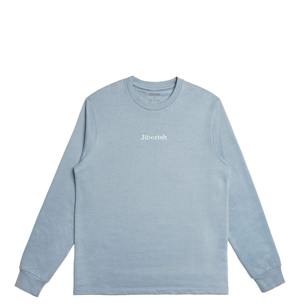 Hometown Supima Crewneck Washed Blue