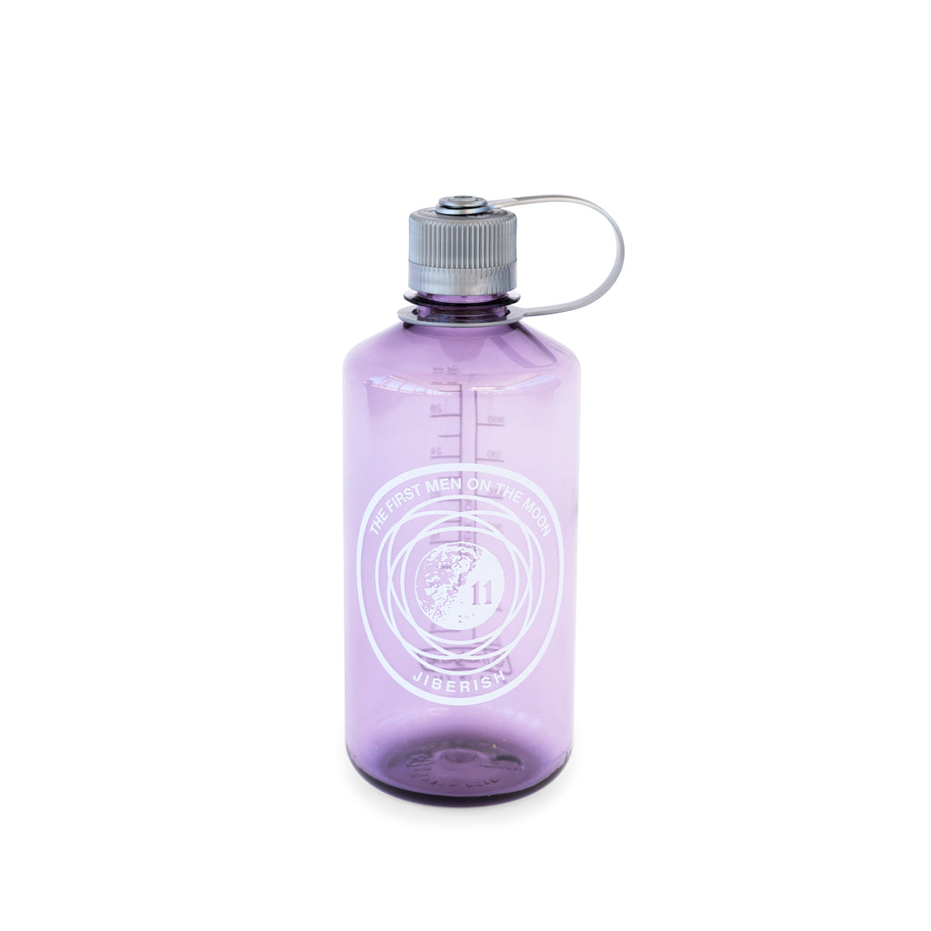 Man on the Moon Nalgene Translucent Purple