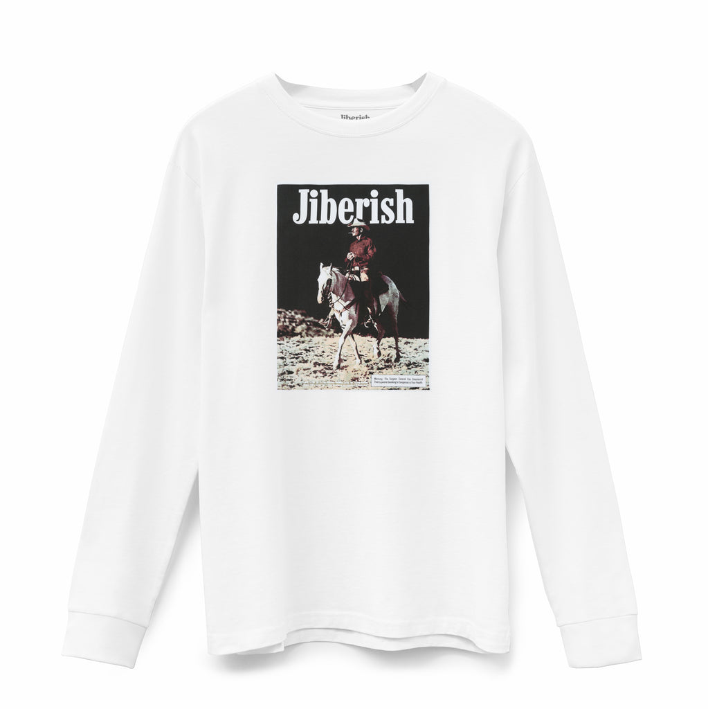 Burnett Supima Long Sleeve White