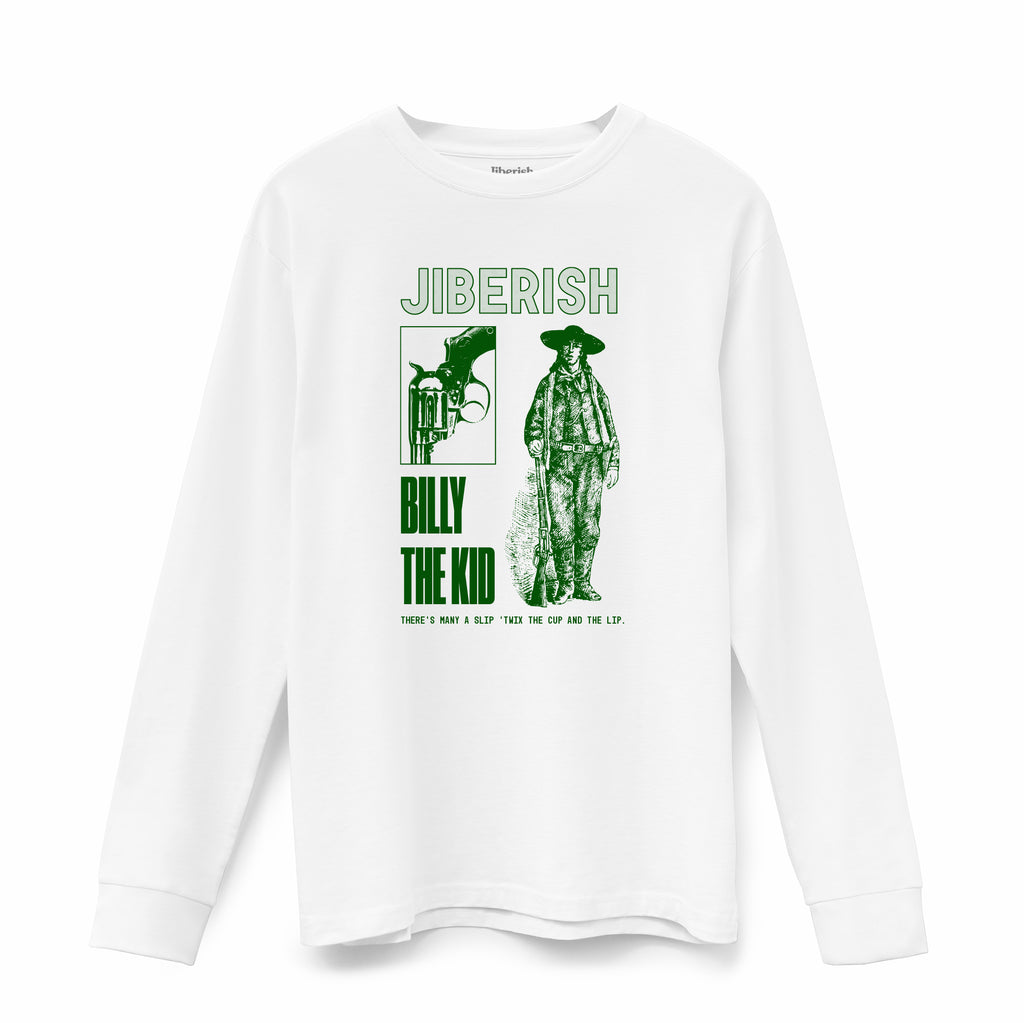 The Kid Supima Long Sleeve White