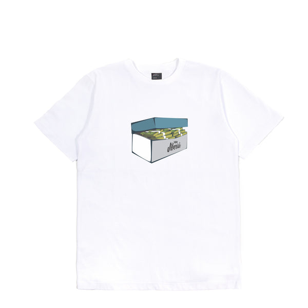 Money Box Tee White