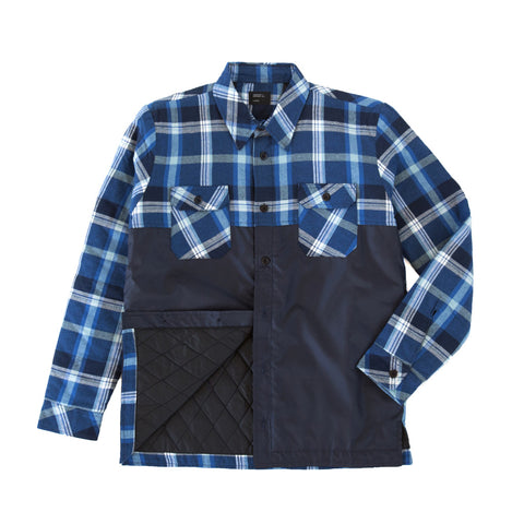 Insulated Riding Flannel Blue