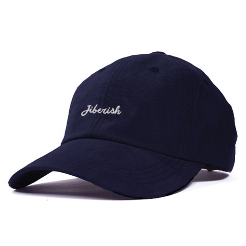 Script Unstructured 6 Panel Hat Navy
